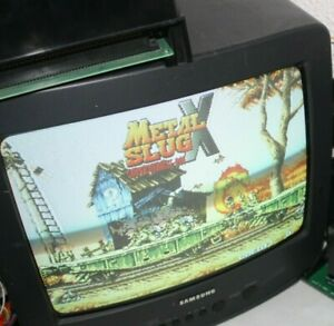 Metal Slug X Neo Geo MVS SNK  Authentic Please Read B