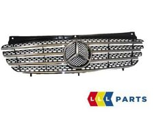 NEW GENUINE MERCEDES BENZ VITO W639 FRONT GRILLE WITH CHROME INSERTS