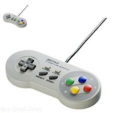 New Buffalo Classic USB Gamepad For PC, Nintendo SNES Style Game Controller