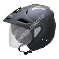 Casco Helmets Jet Moto Cross Enduro Quad Trial Scooter  AFX FX-50 Nero Opaco