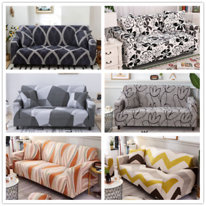 Elastic Sofa Covers for living Room Furniture  Slipcovers 1/2/3/4-seater