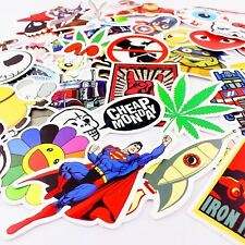 100 pcs Random Cool Skateboard Stickers Bulk Pack Snowboard Vinyl Fashion Decor