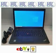 "Lenovo ThinkPad T440 Ultrabook Laptop i5 1.9Ghz 14"" 8Gb 128Gb Ssd Bt Fp 6c Win10"