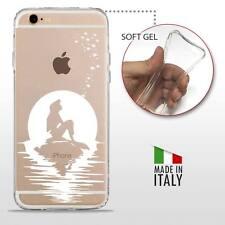 iPhone 6 6S TPU CASE COVER PROTETTIVA GEL TRASPARENTE Disney Ariel Sirenetta