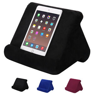 For iPad Book Reader Stand Tablet Pillow Holder Rest Support Reading Cushion