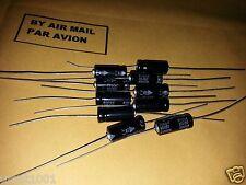 10pcs Nos Frolyt Tgl38908 10uF 80V Hq Axial Tube Amp Caps For Audio!