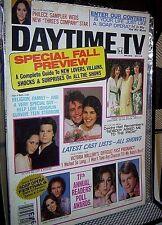 DAYTIME TV MAGAZINE Nov 1981 LORI LOUGHLIN Chris Atkins KIN SHRINER Judith Light