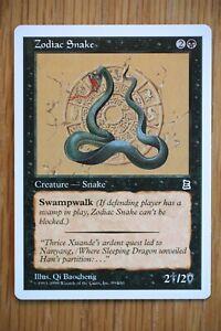 Zodiac Snake / Portal Three Kingdoms P3K *NM Unplayed* (English Magic MTG)