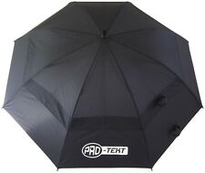 Brand New: Pro-Tekt Golf Dual Canopy Umbrella (Black) - FREE UK P&P