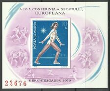 Romania 4th European Conference of Sport Gymnastics Imperf Proof Essay * 1979