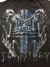 Tapout MPS MMA T-Shirt 2XL XXL Mixed Martial Arts Skeleton Skull Bones