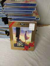 (10) New Sealed Blu-Ray DVD Digital HD Disney BFG w/ Rare Slipcover Walmart