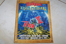 ROCK HARD MAG 2/2008 IRON MAIDEN SEBASTIAN BACH