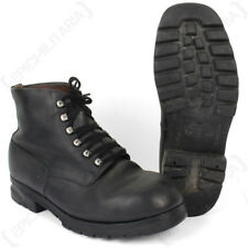 Original Swiss Mountain Boots with Rubber Sole - Army Surplus Vintage Retro Shoe