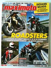 Maximoto of heading 74 of 5/2008; close up trike 1000 ch/folder quads/harley