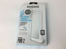 BodyGuardz Pure2 Glass Screen Protector for Apple iPhone 11 Pro XS / X - Clear