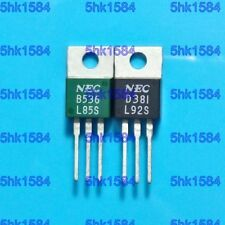 1pair OR 2PCS Transistor NEC TO-220 2SB536/2SD381 B536/D381