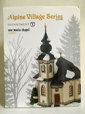 Dept 56 Alpine Village Ave Maria Chapel 4030337 Mip