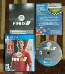 FIFA 18 Complete (Sony PlayStation 4, 2017) VG Shape & Tested