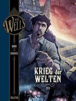 H.G. Wells 3 - Krieg der Welten 2 - Deutsch - Splitter - Comic - NEUWARE