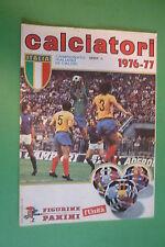 ALBUM FIGURINE PANINI CALCIATORI 1976/1977 serie A  RISTAMPA DE L'UNITA'