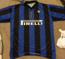 Vintage made in Italy Inter Milan Adriano Pirelli Soccer/Calcio Jersey/ Maglia