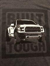 Ford F-150 RAPTOR Men T-Shirt Size XL New (Build Tough) Ford ProFormance New