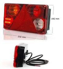 LED + Birne Heckleuchte Multifunktionslampe Rückleuchte 6in1 Links 12/24V Nr 398