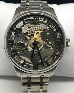 Tissot Chemin Des Squelette T099.405.11.418.00 stainless steel Men`s auto watch