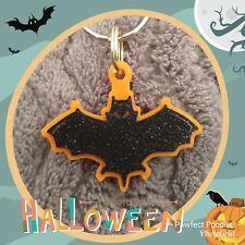 HALLOWEEN BAT  Pet Dog Collar Charm Tags or Keyring. Batman