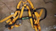 Miller 8428D/XXLADU Full Body Harness Yellow Size XXL Back D Ring Free Shipping