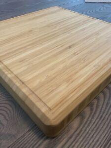 "12"" Square Bamboo Cutting Board"