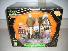 Lemax Spooky Town Witches Brew Haus Animated Musical  95816 Retired   A-447