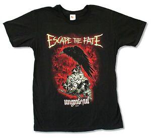Escape The Fate Ungrateful Black T Shirt New Official Band Merch