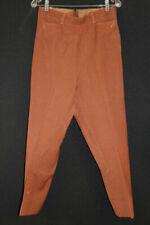 Pantalons vintage en laine mélangée pour femme