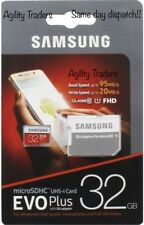 32GB Samsung 32GB Micro SD Card SDHC EVO+ 95MBs UHS-I Class 10 TF Memory Card UK