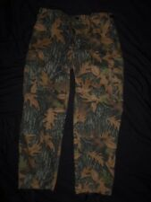 TROUSERS PANTS LARGE-REGULAR USA TRAIL COVER LEAF CAMO USA L-R new old stock