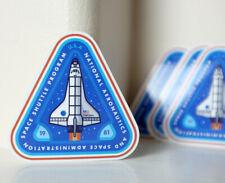 "NASA vintage 19811 Space Shuttle Program Badge style 3x3"" Decal Sticker #5002"
