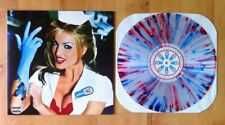 BLINK 182 Enema Of The State LP CLEAR w/RED/BLUE SPLATTER VINYL HOT TOPIC LE2700