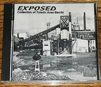 SIN KLUB SAMPLER EXPOSED TOLEDO OHIO/DETROIT CD 18 UNSIGNED BAND COMPILATION NEW
