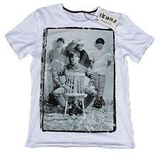 Wow amplified ikons Stone Roses Ian Brown estrella de rock VIP Picture Wow t-shirt m 48
