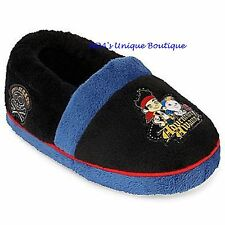 Disney Jake and the Never Land Pirates Non Skid Slippers Size M 7/8