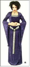 Eternal Love Garnet Violet Purple Gothic Medieval Princess Dress XL