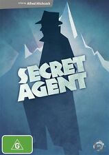 Secret Agent - A Film By Alfred Hitchcock - New Sealed DVD Region 4 (Box D57)