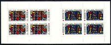 France 1981 Red Cross/Medical/Art/Glass 8v bklt n28719