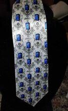 L@@K! Tardis Design Tie - Doctor Who Gallifrey Blue box Satin Tie Whovians