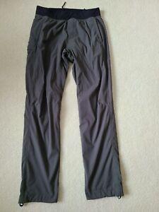 Men's Lululemon Gray Yoga Pant  -  Large