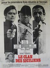 LE CLAN DES SICILIENS 1969 ALAIN DELON / JEAN GABIN 120x160 - Modèle B