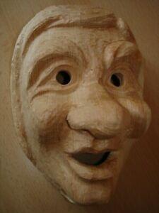 Maskenrohling Kindermaske Junge  Nr.7045K , Fasnet, Rohling, Holzmaske Larve,