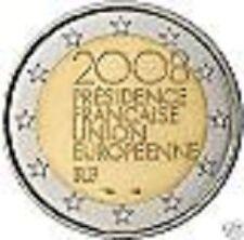 PIECE 2€  FRANCE  2008  COMMEMORATIVE  PRESIDENCE  DE  L'UNION  EUROPEENNE